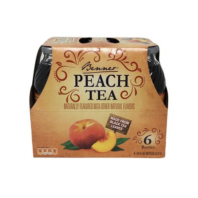Benner Peach Iced Tea