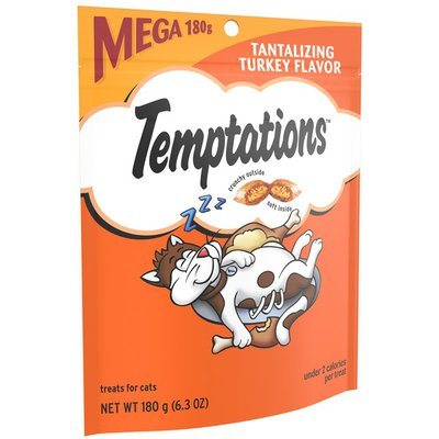 Temptations Tantalizing Turkey Flavor Cat Treats