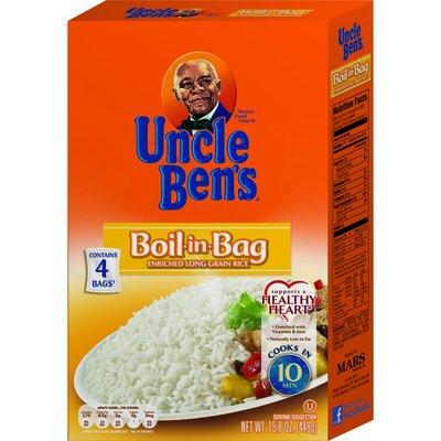 Uncle Ben'S BoilInBag Long Grain White Rice