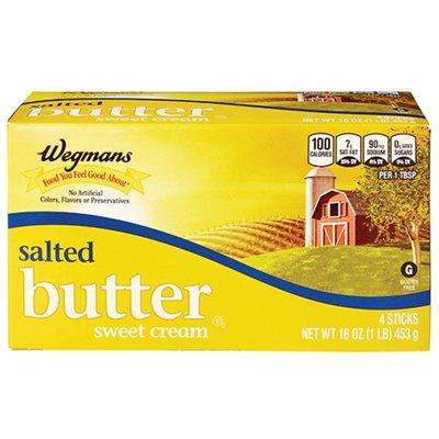 Wegmans Salted Butter Sweet Cream