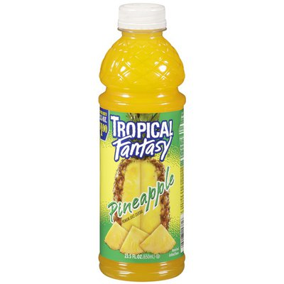 Tropical Fantasy Juice Cocktail Pineapple