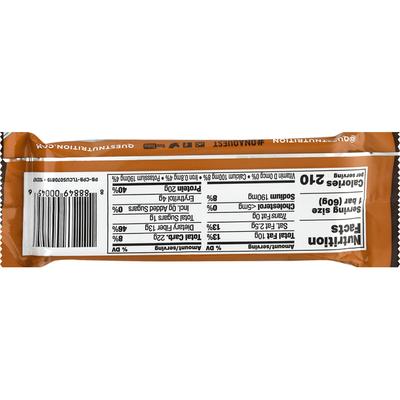 Quest Protein Bar Chocolate Peanut Butter Flavor
