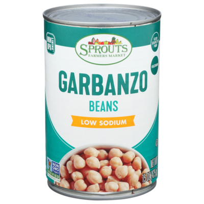 Sprouts Garbanzo Beans