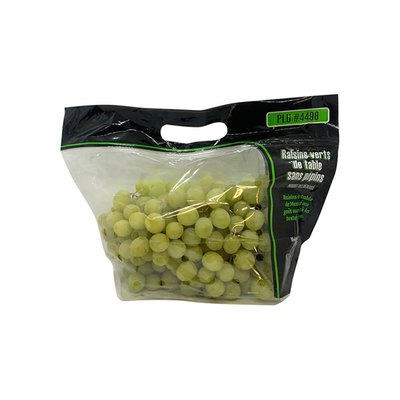 Unifrutti Grapes, Table, Seedless, Green