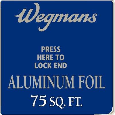 Wegmans Aluminum Foil, 75 Sq Ft