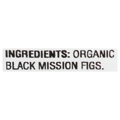 WOODSTOCK Organic Unsweetened Black Mission Figs