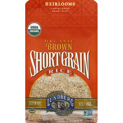 Lundberg Family Farms Brown Rice, Organic, Short Grain