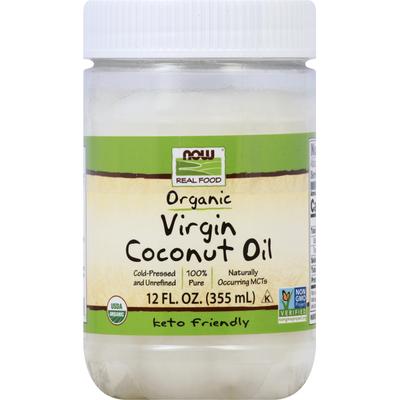 Now Coconut Oil, Organic, Virgin