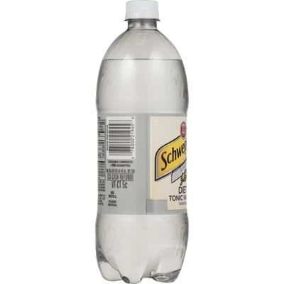 Diet Schweppes Tonic Water