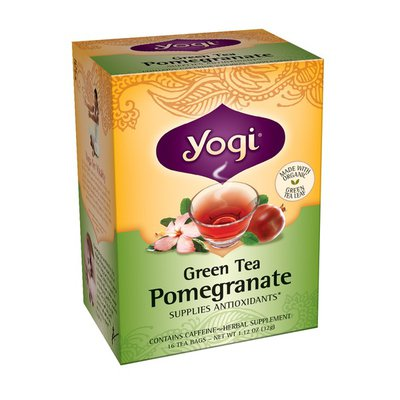 Yogi Tea Green Tea Pomegranate - 16 CT