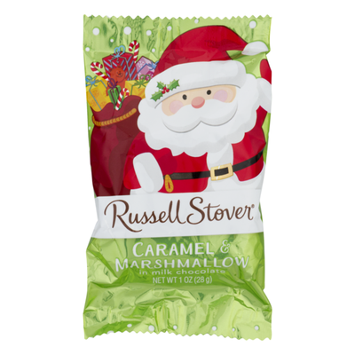 Russell Stover Caramel & Marshmallow in Milk Chocolate