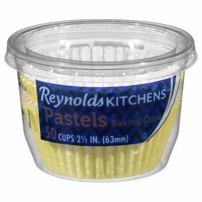 Reynolds Kitchens Baking Cups, Pastels, 2.5 Inch