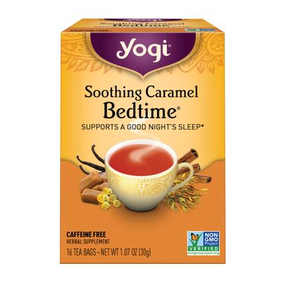 Yogi Tea Herbal Tea, Soothing Caramel Bedtime Tea, Supports a Good Nights Sleep