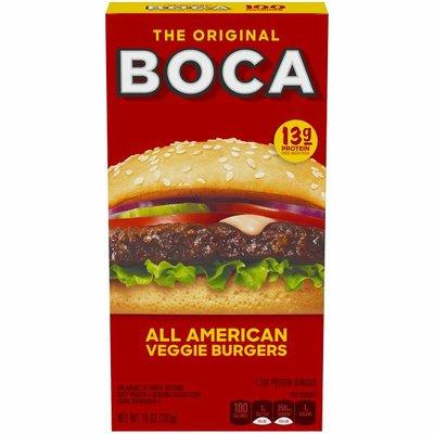 Boca All American Veggie Burgers