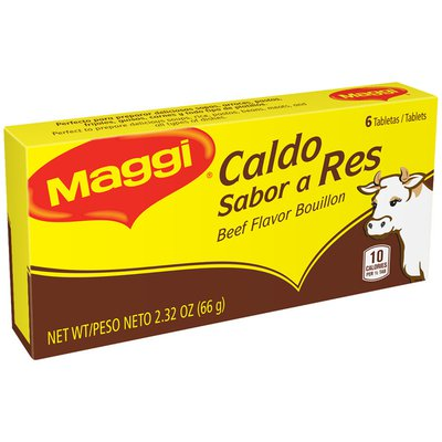Maggi Beef Flavor Bouillon Tablets