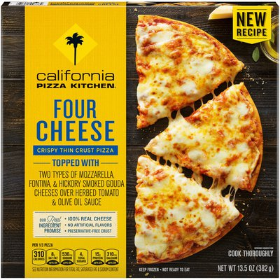 California Pizza Kitchen Four Cheese Crispy Thin Crust Frozen Pizza