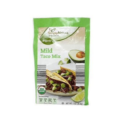 Simply Nature Organic Mild Taco Mix