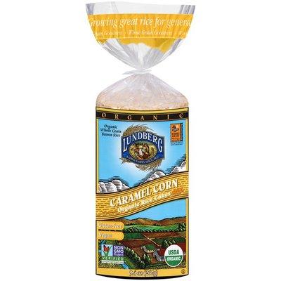 Lundberg Family Farms OG Caramel Corn Rice Cake Organic Rice Cakes