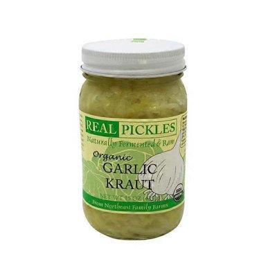 Real Pickles Organic Garlic Kraut