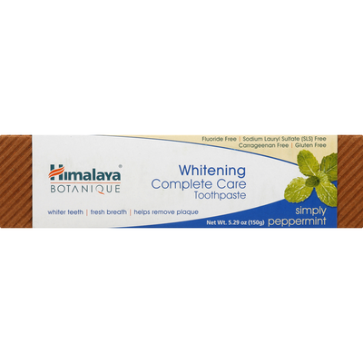 Himalaya Toothpaste, Complete Care, Peppermint, Whitening