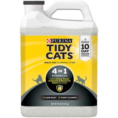 Purina Tidy Cats Clumping Cat Litter, Strength Multi Cat Litter