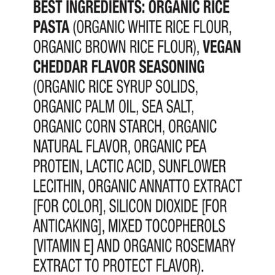 Annie's Organic Vegan Gluten Free Elbow Rice Pasta & Creamy Sauce