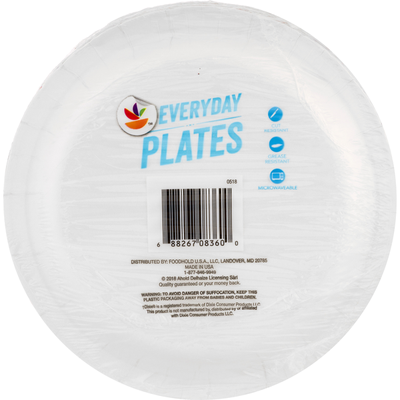 SB Plates, Everyday, 8.5 Inches