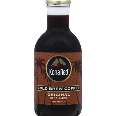 KonaRed Coffee, Cold Brew, Original