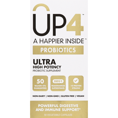 up4 Probiotics Ultra Digestive And Immune Support