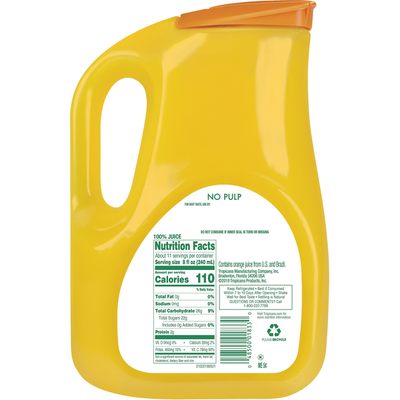 Tropicana Pure Premium Original Orange Juice No Pulp
