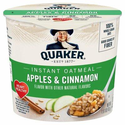 Quaker Instant Oatmeal Apple Cinnamon