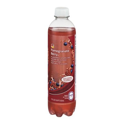 SB Flavored Sparkling Water Beverage Pomegranate Berry