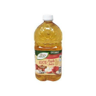 Simply Nature 100% Apple Juice From Concentrate