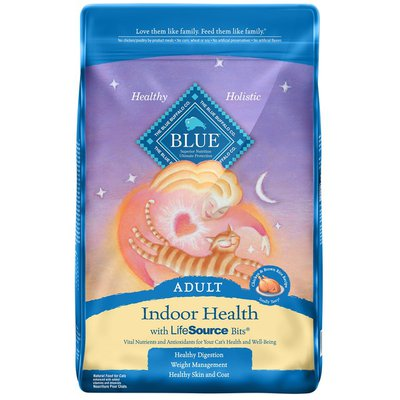 Blue Buffalo Indoor Health Natural Adult Dry Cat Food, Chicken & Brown Rice