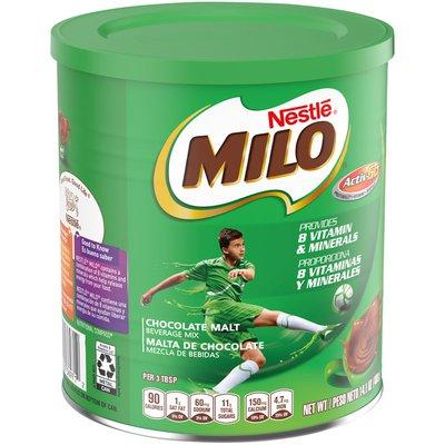 Milo's Activ-Go Chocolate Malt Powder Drink Mix