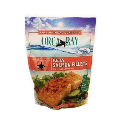 Orca Bay Seafoods Salmon Fillets, Keta, Wild Caught