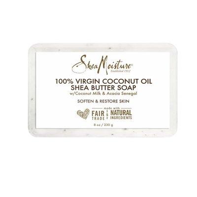 SheaMoisture Shea Butter Soap 100% Virgin Coconut Oil