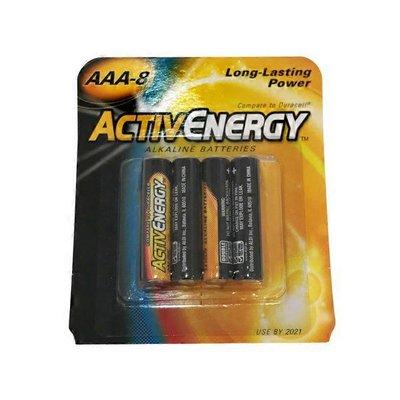Activenergy Aaa Alkaline Batteries 8 Ct Instacart