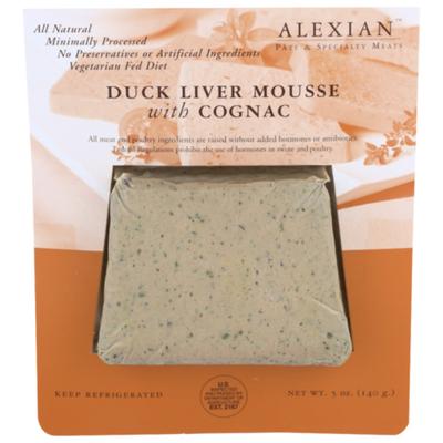 Alexia Duck Liver Mousse With Cognac
