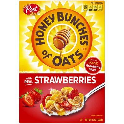 Honey Bunches of Oats Honey Bunches of Oats Strawberries