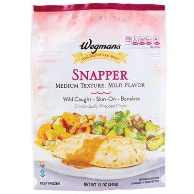 Wegmans Food You Feel Good About Wild Caught Crimson Snapper