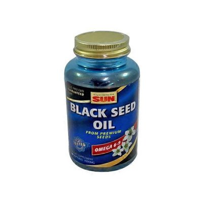 Health From the Sun Black Seed Oil Soft Gels