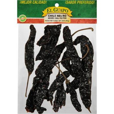 El Guapo®  Whole Negro Chili Pepper (Chile Negro Entero)