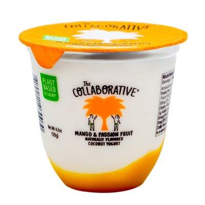 The Collaborative Mango & Passionfruit, Plant-Based Coconut Yogurt