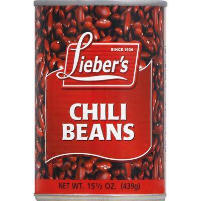 Lieber's Chili Beans