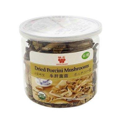 WC Organic Dried Porcini Mushroom