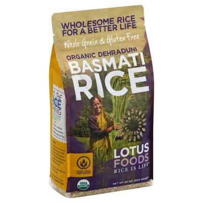 Lotus Foods Basmati Rice, Organic Brown