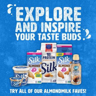 Silk Vanilla Almond Milk Yogurt Alternative