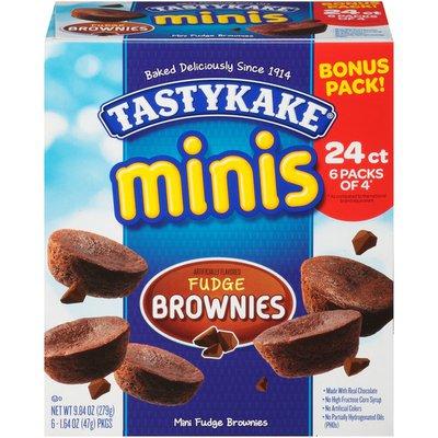 Tastykake Minis Fudge Brownies