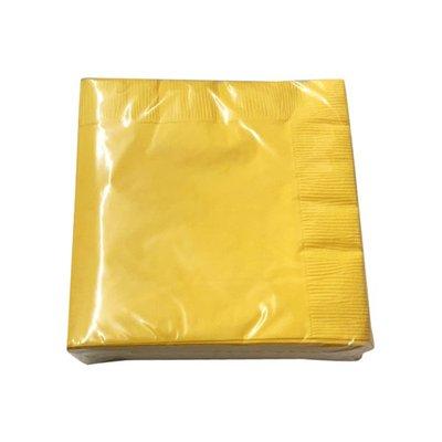 Sensations Napkins, Soft Yellow, 2 Ply